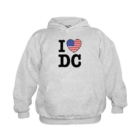 I Love DC Kids Hoodie