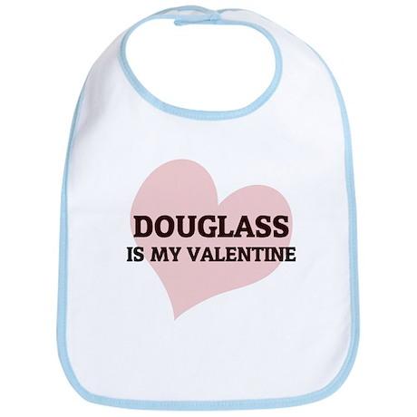 Douglass Is My Valentine Bib