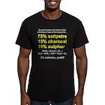 Time Traveller's Men's Fitted T-Shirt (dark)