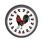 Rooster Circle Wall Clock