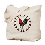 Rooster Circle Tote Bag
