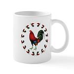 Rooster Circle Mug