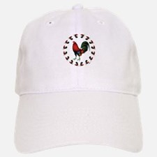Rooster Circle Cap