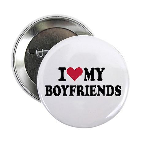 """I love my boyfriends 2.25"""" Button (100 pack)"""