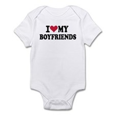 I love my boyfriends Infant Bodysuit