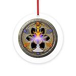 Pagan Great Rite Ornament (Round)