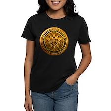 Gold Pagan Pentacle Tee
