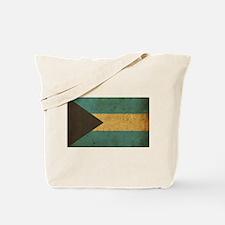 Vintage Bahamas Flag Tote Bag