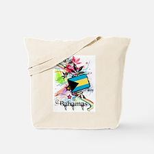 Flower Bahamas Tote Bag