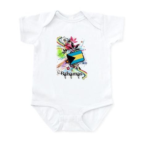 Flower Bahamas Infant Bodysuit