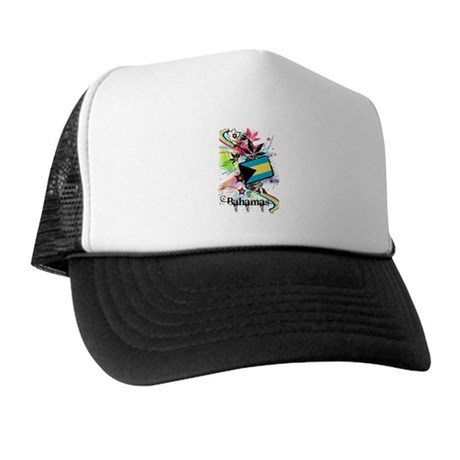 Flower Bahamas Trucker Hat
