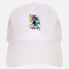 Flower Bahamas Baseball Baseball Cap