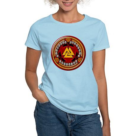 Red Viking Runes Women's Light T-Shirt