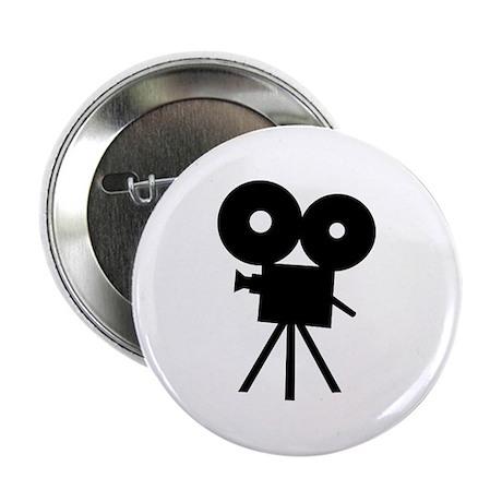 """Film camera - movie 2.25"""" Button"""