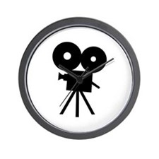 Film camera - movie Wall Clock