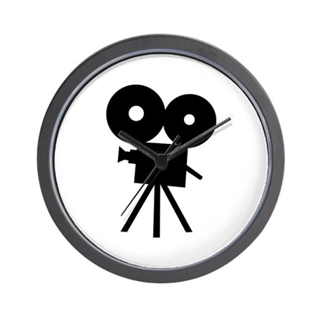 Film camera - movie Wall Clock