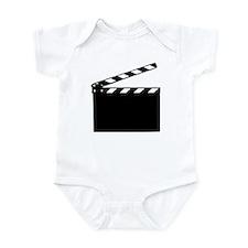 Movie - clapperboard Infant Bodysuit