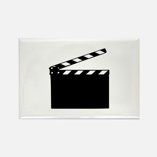 Movie - clapperboard Rectangle Magnet