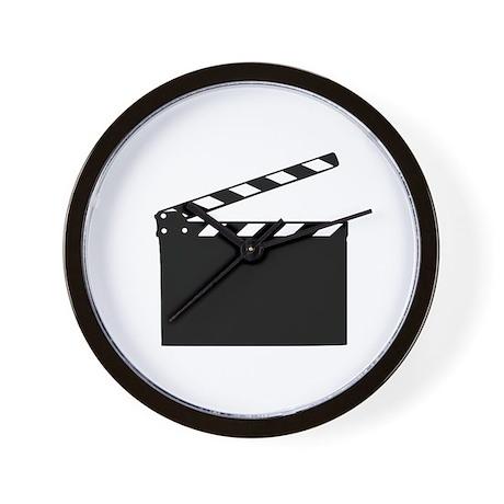 Movie - clapperboard Wall Clock