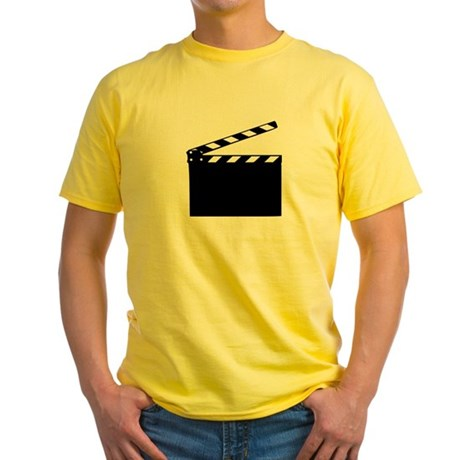Movie - clapperboard Yellow T-Shirt