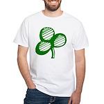Sharmock White T-Shirt