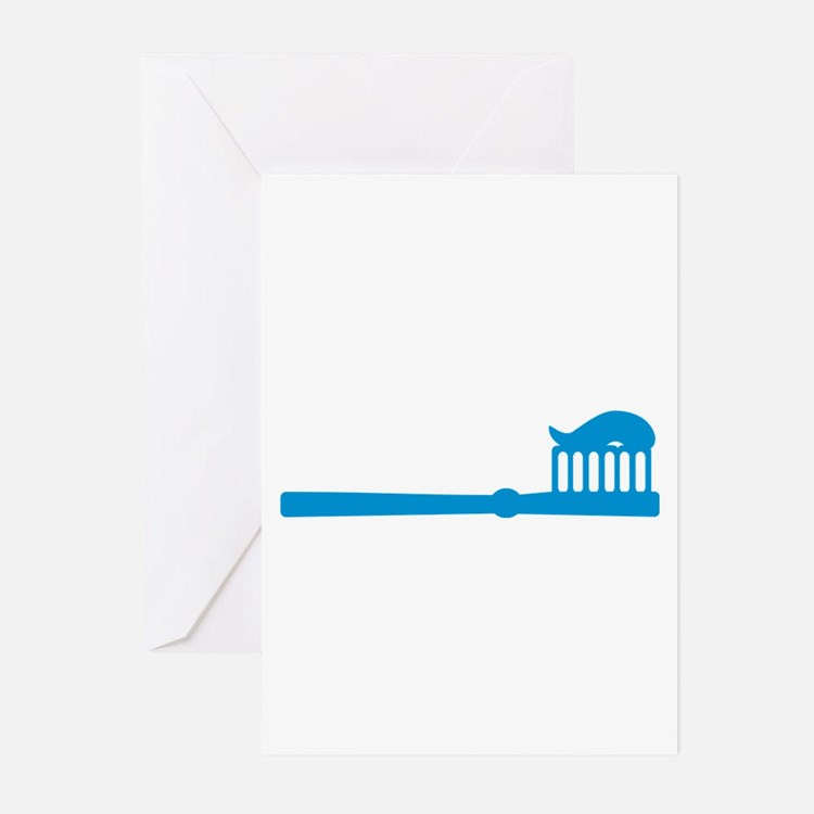 Toothbrush Greeting Cards (Pk of 20)