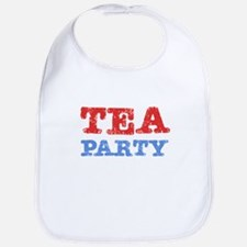 Tea Party Vintage Bib
