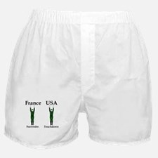 France vs USA Boxer Shorts
