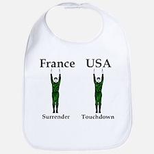 France vs USA Bib