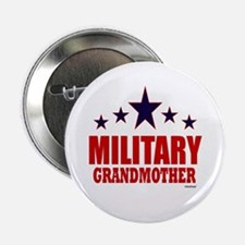 """Military Grandmother 2.25"""" Button"""