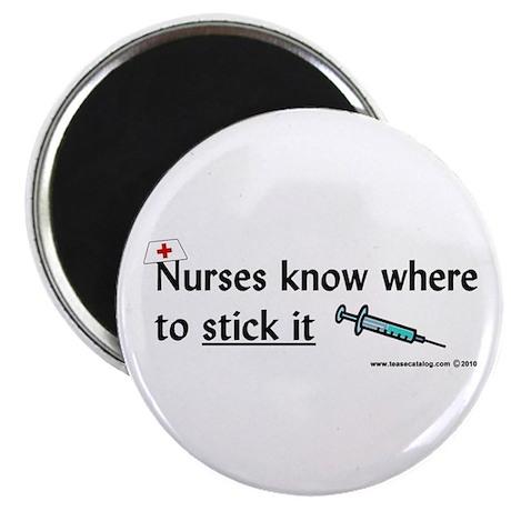 Nurse..Stick it Magnet