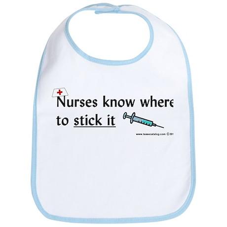 Nurse..Stick it Bib