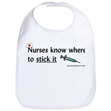 Nurse..Stick it Bib