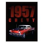 """57 Chevy"" Poster"