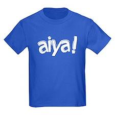 aiya! Kids' Dark T-Shirt