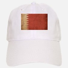 Vintage Bahrain Flag Baseball Baseball Cap