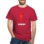 Map Of Bahrain Dark T-Shirt