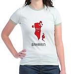 Map Of Bahrain Jr. Ringer T-Shirt