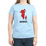 Map Of Bahrain Women's Light T-Shirt