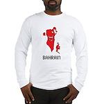 Map Of Bahrain Long Sleeve T-Shirt