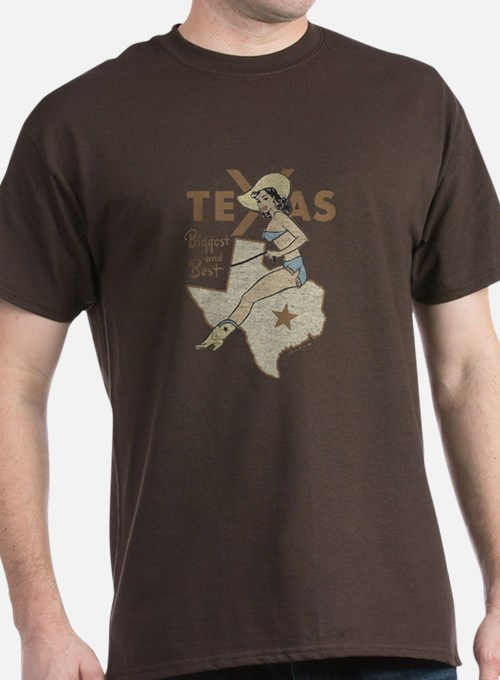 1950 39 s style vintage gifts merchandise 1950 39 s style for Texas tee shirt company