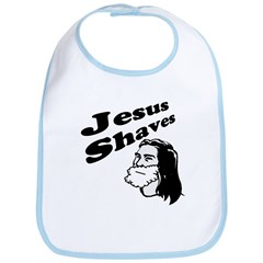 Jesus Shaves Bib