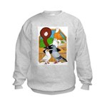 Five Pigeons Kids Sweatshirt