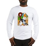 Five Pigeons Long Sleeve T-Shirt