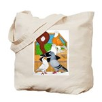Five Pigeons Tote Bag