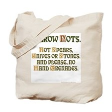 Throw Tote Bag