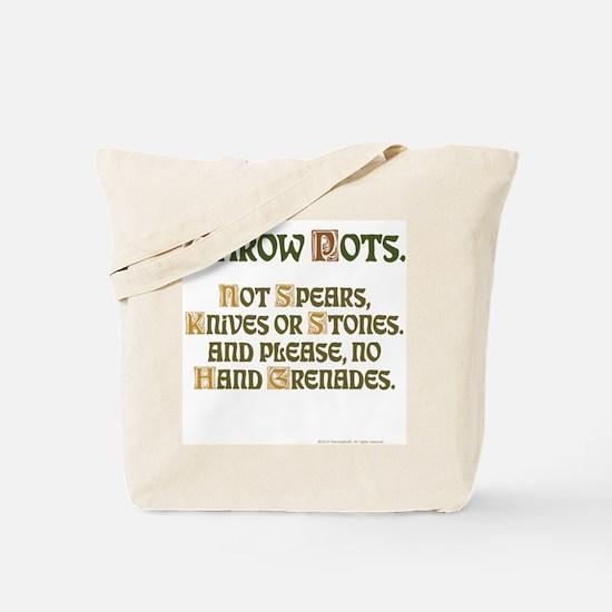 Throw Tote Bag