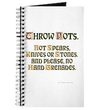 Throw Journal