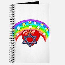 Jewish Love Hearts Journal
