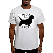 ADOPTED by a PBGV T-Shirt